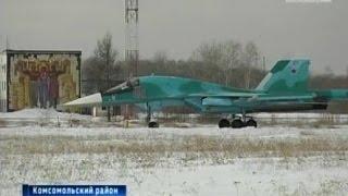 Вести-Хабаровск. Новый Су-34 в Комсомольске-на-Амуре