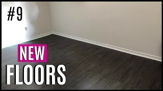 JOURNEY TO HOME #9 | LOOK AT THE NEW FLOORS! | BASEMENT RENOVATION
