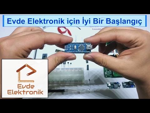 Evde Elektronik için İyi Bir Başlangıç #1