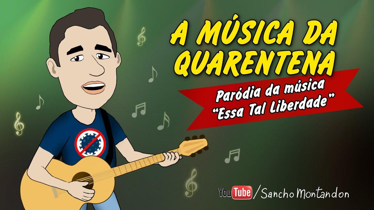 """SEM MINHA LIBERDADE - """"A Música da Quarentena"""" - Parodia da música ESSA TAL LIBERDADE."""