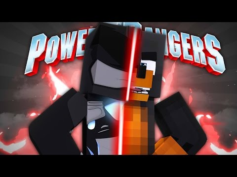Minecraft POWER RANGERS SERIES - BECOMING THE BLACK POWER RANGER - Donut the Dog Minecraft Roleplay