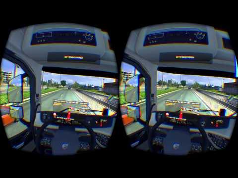 ETS2 Oculus Rift