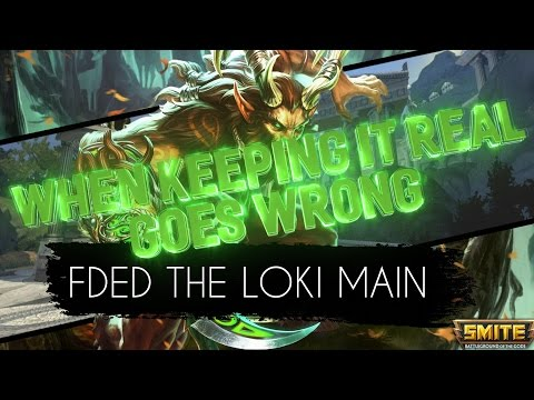 [LG] Allied - WHEN KEEPING IT REAL GOES WRONG - FDED THE TOXIC LOKI MAIN
