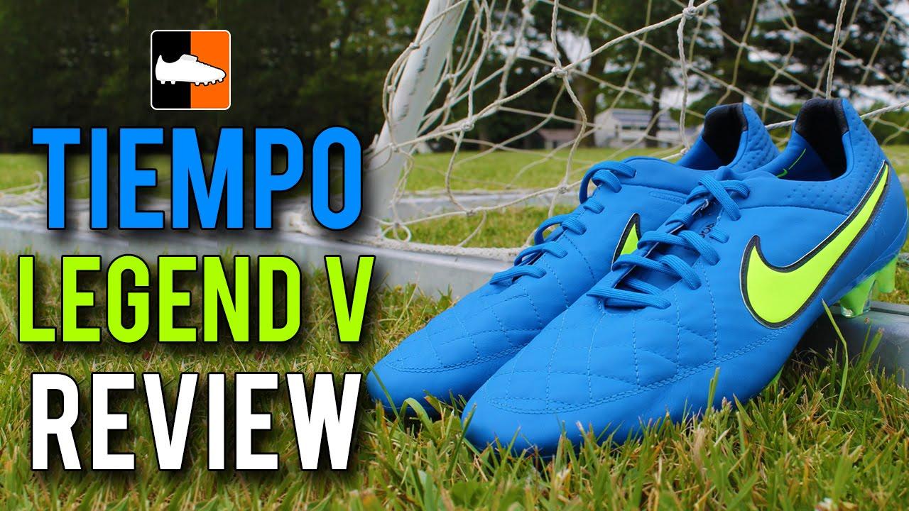online retailer 1a6e0 0a444 Nike Tiempo Legend V Review - Highlight Pack - YouTube