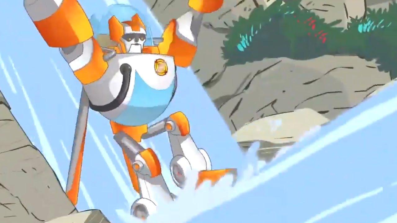 Transformers em português ⭐️ Episódios Completos ⭐️ 1 HORA   Rescue Bots T2   Episódios Completos