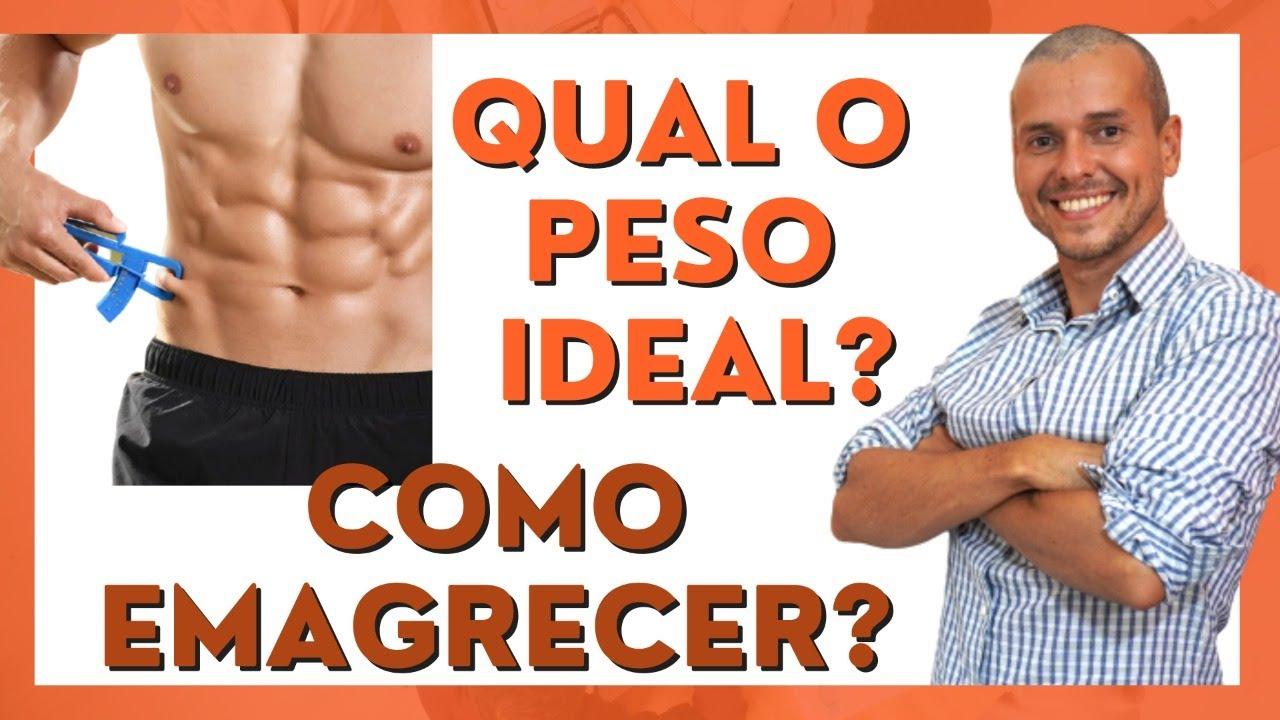 COMO SABER MEU PESO IDEAL GORDURA CORPORAL IMC EMAGRECIMENTO
