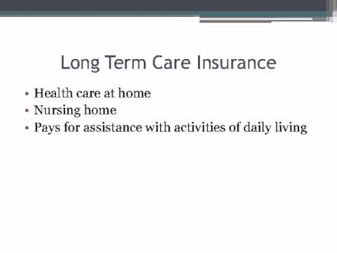 Medicare, Medicaid, Supplemental or Long-Term Insurance: Who Pay's the Bill