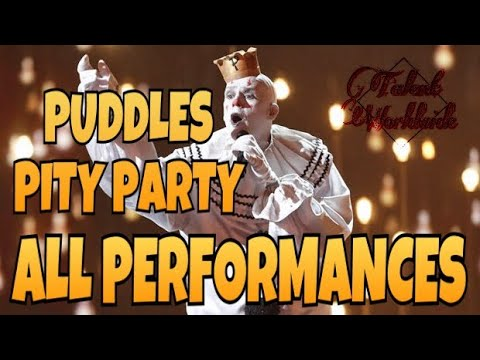 Puddles Pity Party- All Performances   America's Got Talent 2017   Talent Worldwide