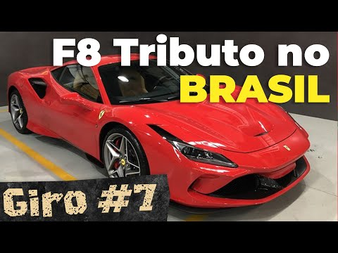 NOVA FERRARI F8 TRIBUTO NO BRASIL! / Última marcha