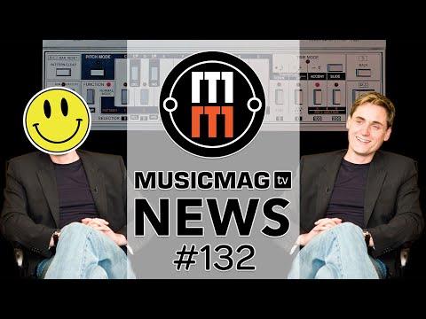 MusicMagTV News #132: Behringer TB-303, самый маленький синтезатор в мире, обновление Elektron и др.