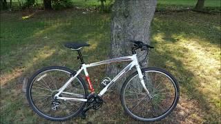 Nishiki Mantibo bicycle hybird review,