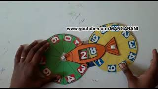 Maths working model, 0-99 numbers for primary school children,
