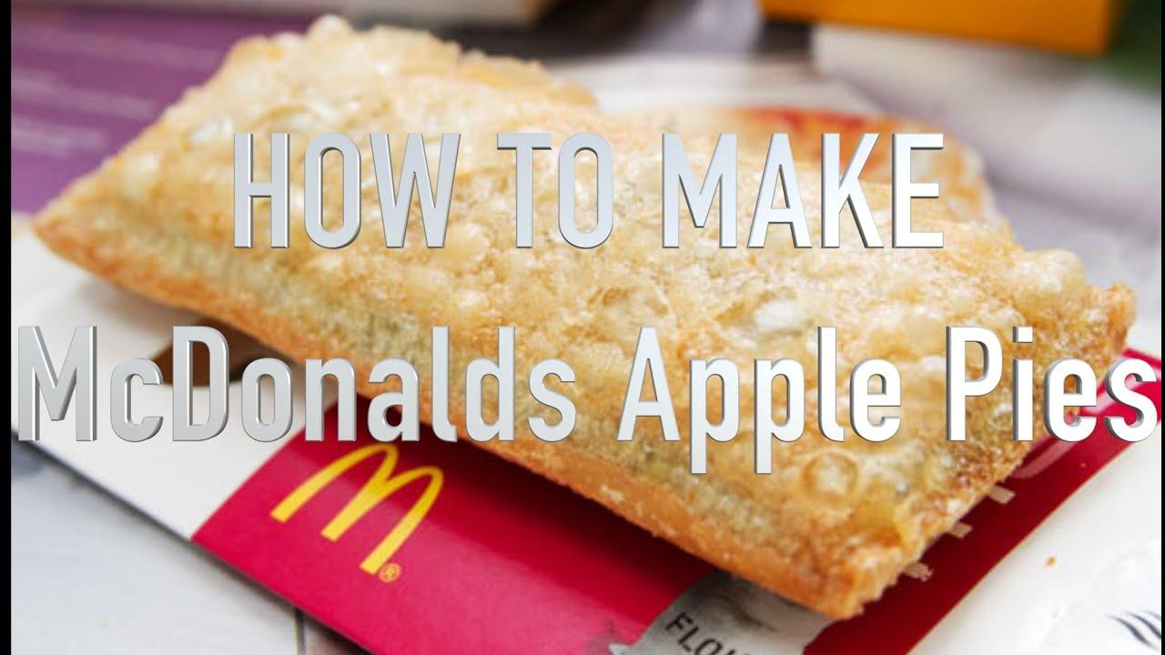 McDonalds Baked Fried Apple Pie SHORT