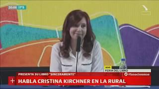 Cristina Kirchner presentó su libro
