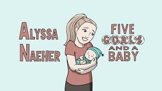 Alyssa Naeher: Five Goals and a Baby | WNT Animated, Presented by Ritz
