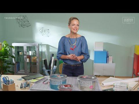 Farbige Akzente setzen | SCHÖNER WOHNEN Trendfarben | Eva Brenner SCHÖNER WOHNEN-Farbe Studio