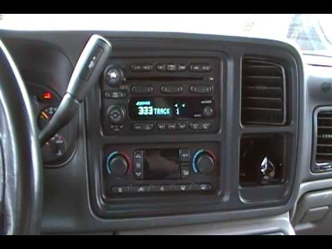 Bose Sound System >> stock bose 9 speaker surround sound system in my '03 suburban - YouTube