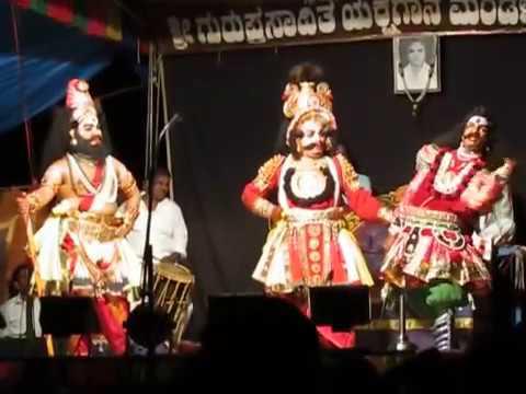 Yakshagana - ಅರುಣ್ ಜಾರ್ಕಳರ ದುಶ್ಯಾಸನ - Hasya
