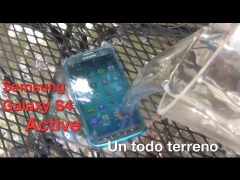 Unboxing Samsung Galaxy S4 Active Primeras impresiones