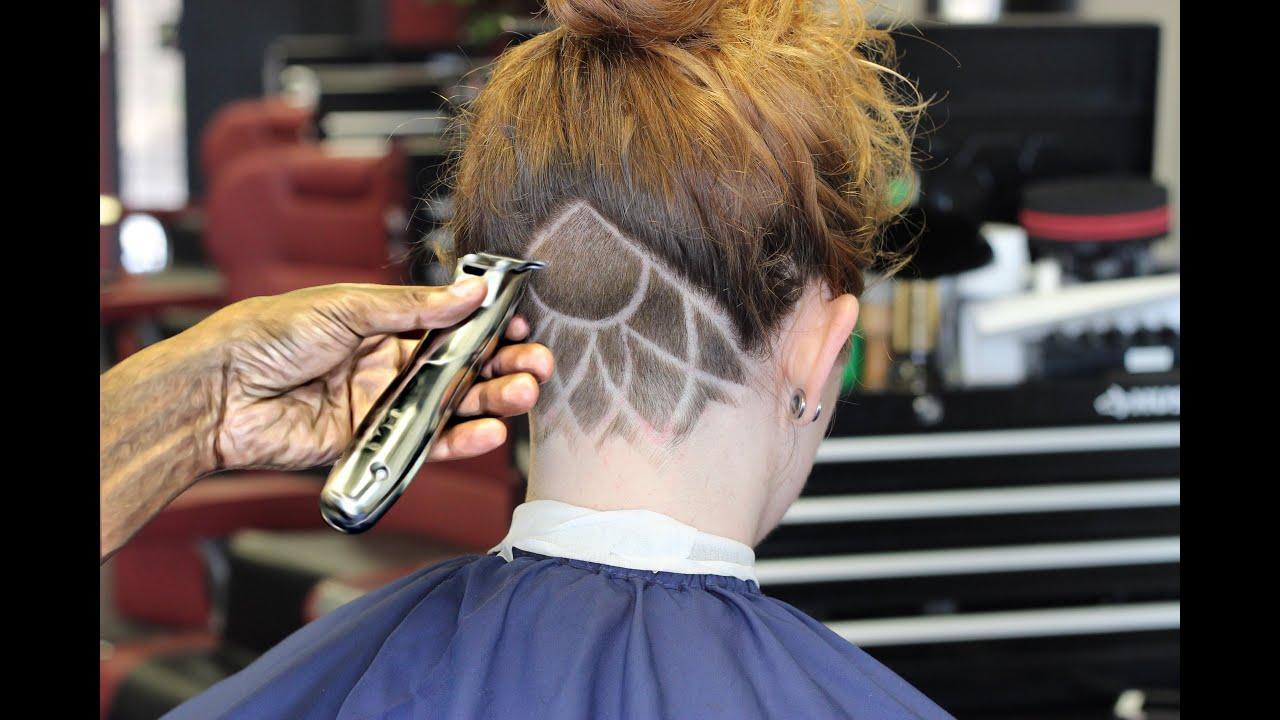 haircut freestyle neck design