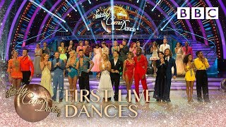 First live dances of this year's spectacular series - BBC Strictly 2018