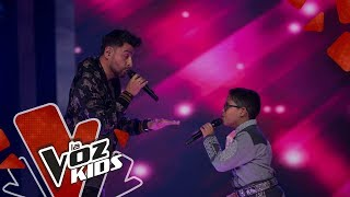 Alex Campos and Leumas sing Soy Soldado | Yatra and His Friends | The Voice Kids Colombia 2019