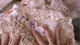 Video Vintage Crochet Doilies and Thrift Shop Finds download MP3, 3GP, MP4, WEBM, AVI, FLV Juli 2018