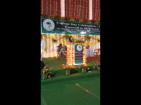 Farewell Speech J N Medical College, A.M.U - 2014 (Girl Orator)