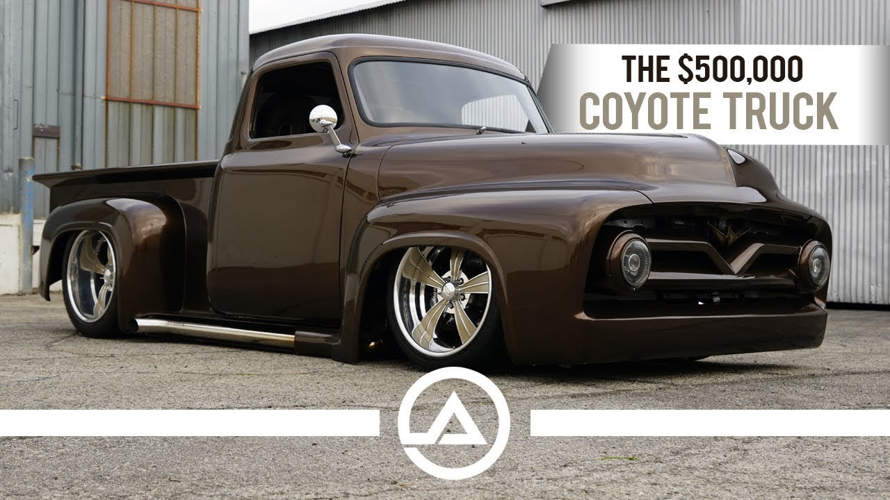 The 500000 coyote truck 55 ford f100