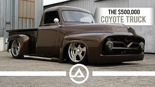The $500,000 Coyote Truck | '55 Ford F100