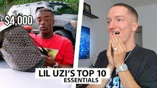 Justin reagiert auf 10 Essentials von Lil Uzi Vert.. | Reaktion