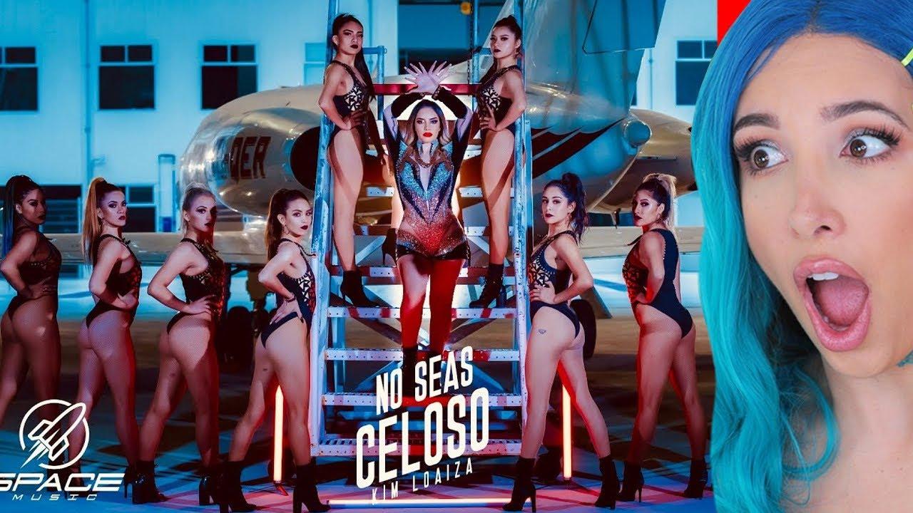KIM LOAIZA - NO SEAS CELOSO (VIDEO OFICIAL) - MI REACCION | Mariale #1