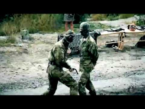 Russian Special Forces Knife Fighting...is bullshit, too.