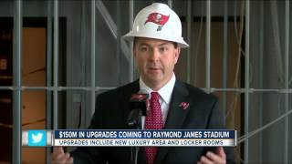 More upgrades announced for Raymond James Stadium