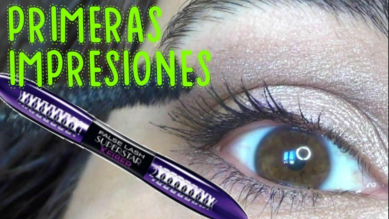 02dd0065430 PRUEBA CONMIGO L'Oréal Paris False Lash Superstar X Fiber 💖 Primeras  Impresiones Opinion by FSandMe