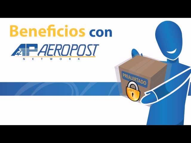 ¿Cómo prealertar? Aeropost Network