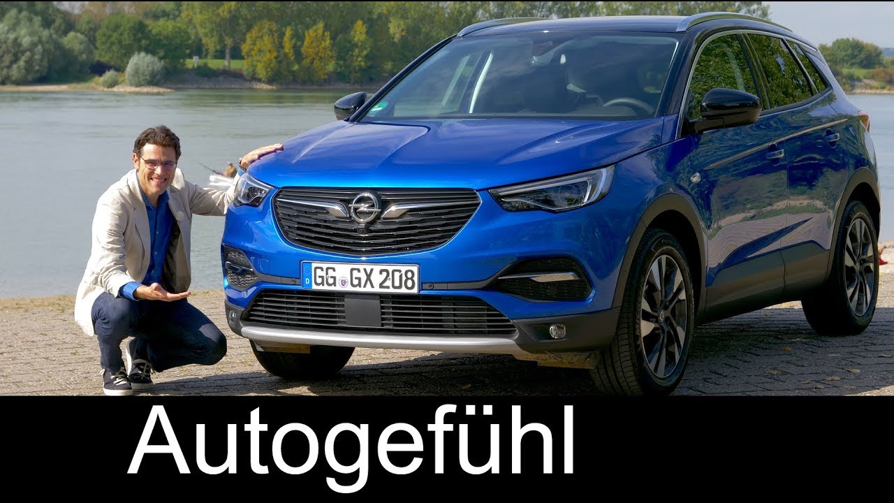 opel grandland x full review test driven 1 2 all new vauxhall suv 2018 autogef hl youtube. Black Bedroom Furniture Sets. Home Design Ideas