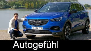 Opel Grandland X FULL REVIEW test driven 1.2 all-new Vauxhall SUV 2018 - Autogefühl