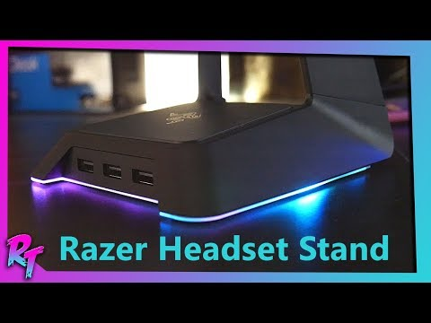RGB Headset Stand!   Razer Headset Stand Review