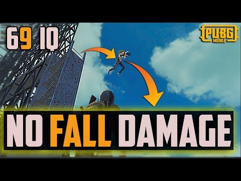 NO FALL DAMAGE from high Location Pubg Mobile | Tips and Tricks |69 IQ