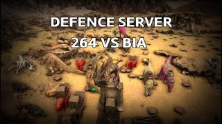 Ark PVP OFFICIAL - EVBH 264 VS BIA HARD FIGHT