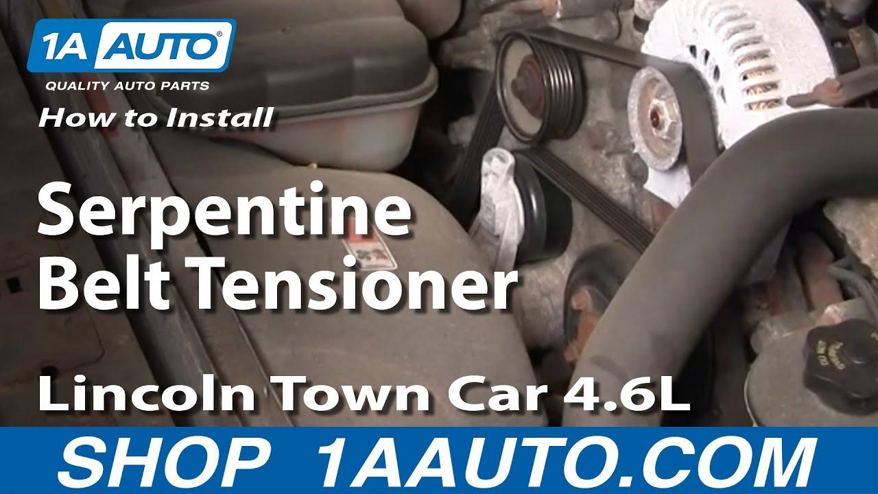 How to Install Repair Replace Serpentine Belt Tensioner