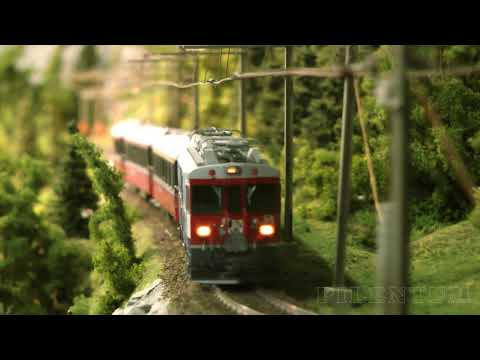 Model Trains from Switzerland: The Rhaetian Railway (RhB) - Metre gauge and electrified