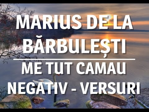 ME TUT CAMAU NEGATIV - VERSURI 2015 [MARIUS DE LA BARBULESTI]