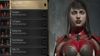 MORTAL KOMBAT 11 - Skarlet Abilities Showcase & Combos