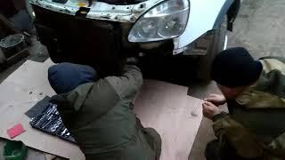 Установка отбойника под бампер на газель 3uz тюнинг газели
