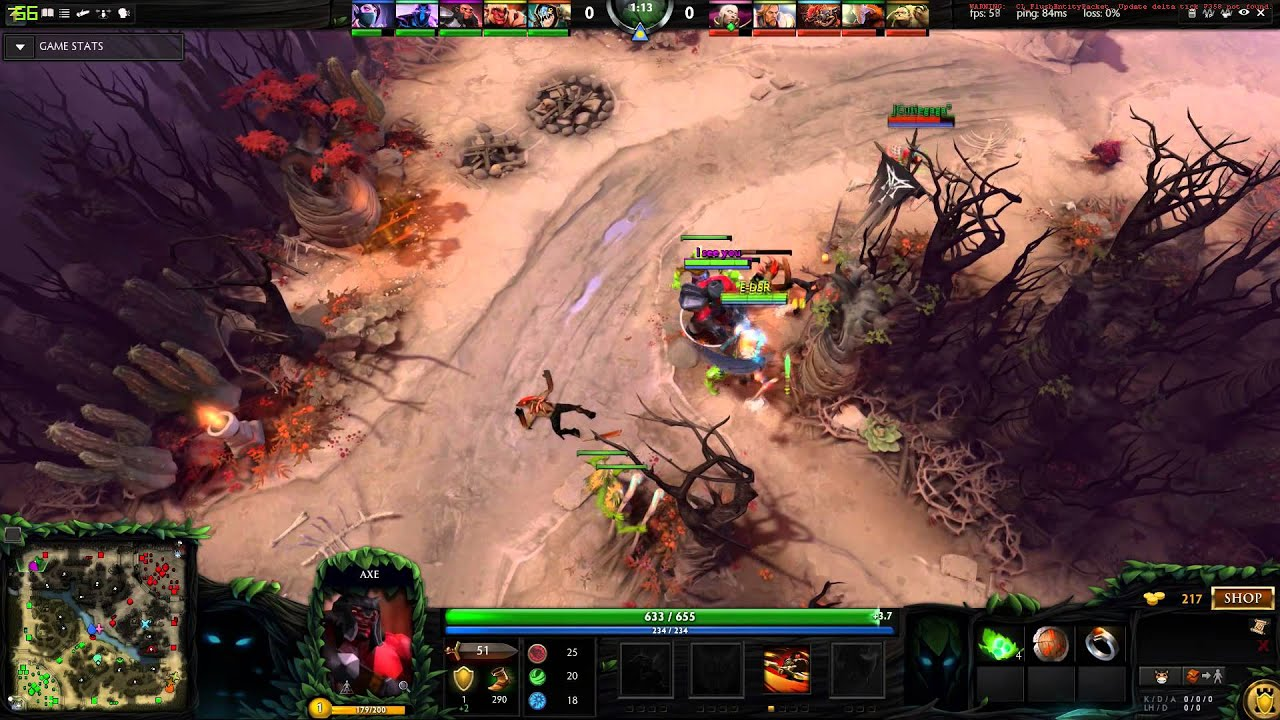 dota 2 how to get rampage youtube