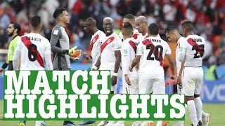 France vs Peru World Cup Football Highlights 2018