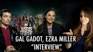 "Gal Gadot, Ezra Miller ""Interview"" - Justice League, What They REALLY Think About Joss Whedon"