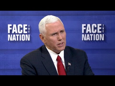 Full Interview: Mike Pence, January 15